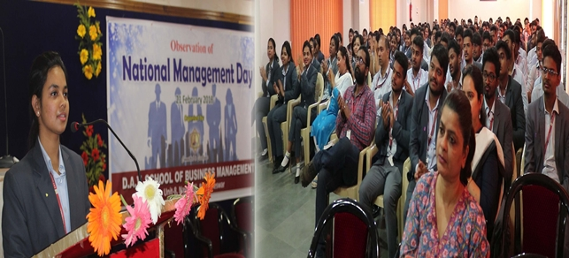 Observation of National Management Day