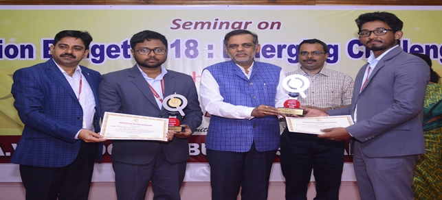 Seminar on <br> Union Budget 2018 : Emerging Challenges