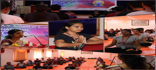 DSBM observes International Day of Yoga under the guidance of the Yoga Expert Dr.Prativa Shree